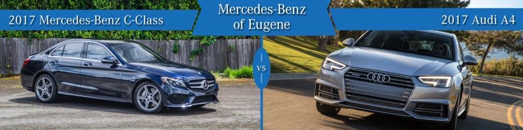 Mercedes-Benz C-Class vs. Audi A4