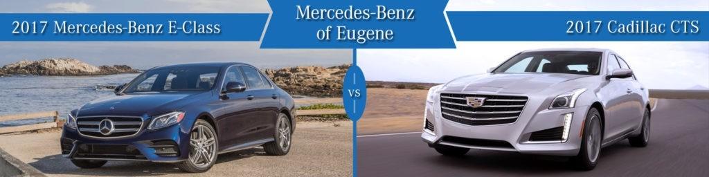 Mercedes-Benz E-Class vs. Cadillac CTS