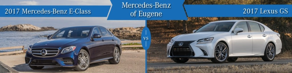 Mercedes-Benz E-Class vs. Lexus GS