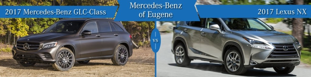 Mercedes-Benz GLC vs. Lexus NX