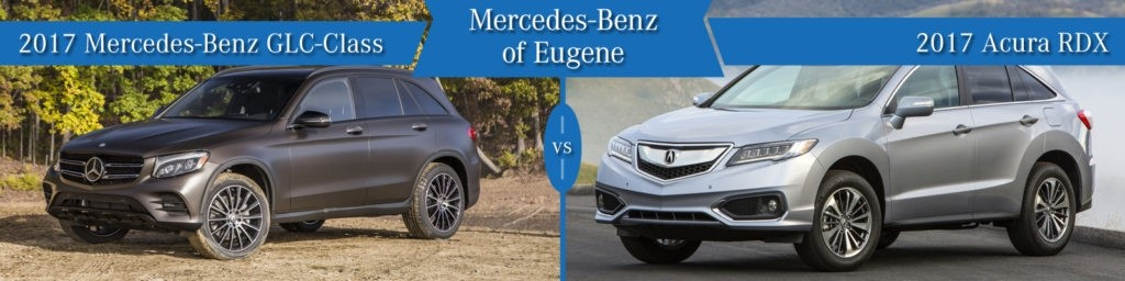 Mercedes-Benz GLC vs. Acura RDX