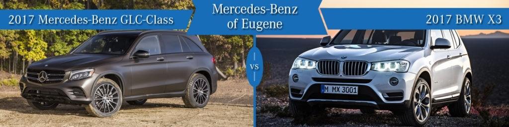 Mercedes-Benz GLC vs. BMW X3
