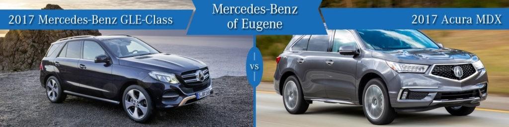 Mercedes-Benz GLE vs. Acura MDX