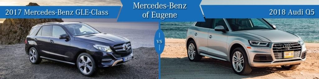 Mercedes-Benz GLE vs. Audi Q5