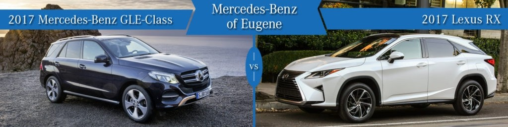 Mercedes-Benz GLE vs. Lexus RX