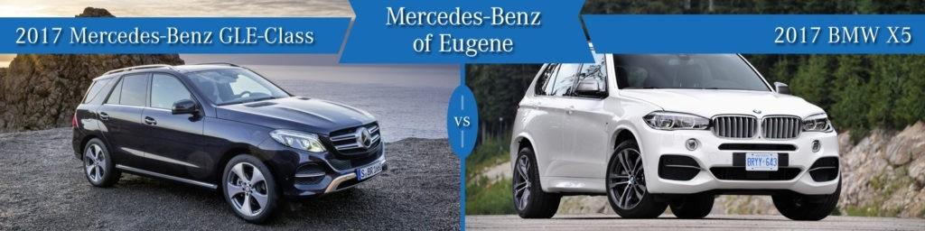 Mercedes-Benz GLE vs. BMW X5