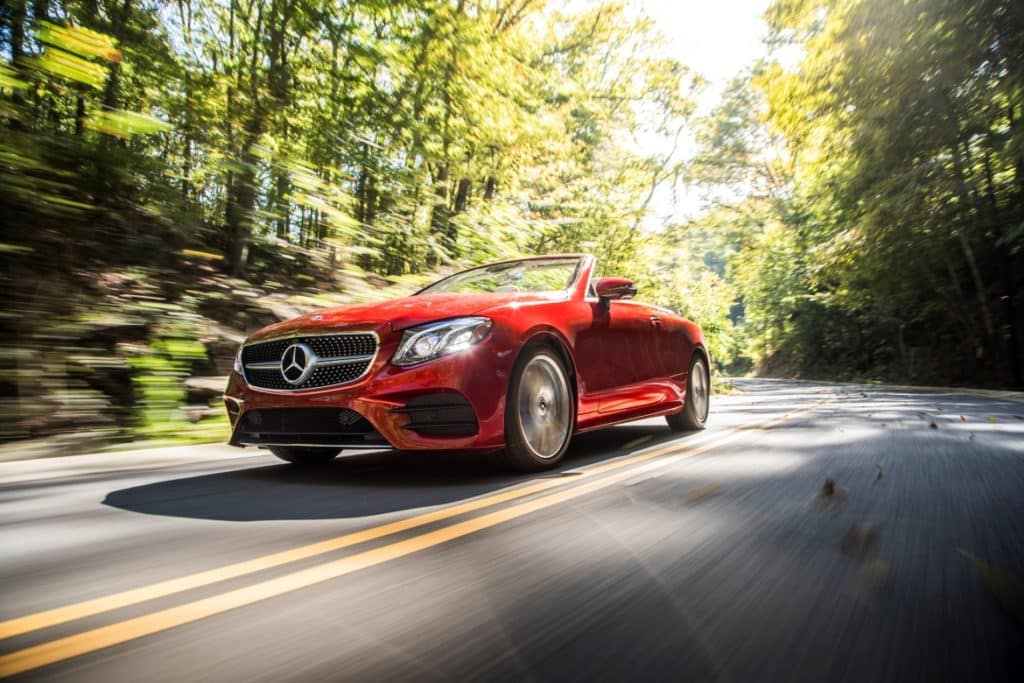 The 2018 E-Class Cabriolet: The Year-Round Convertible ...