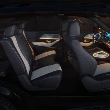2020 MB GLE Seating