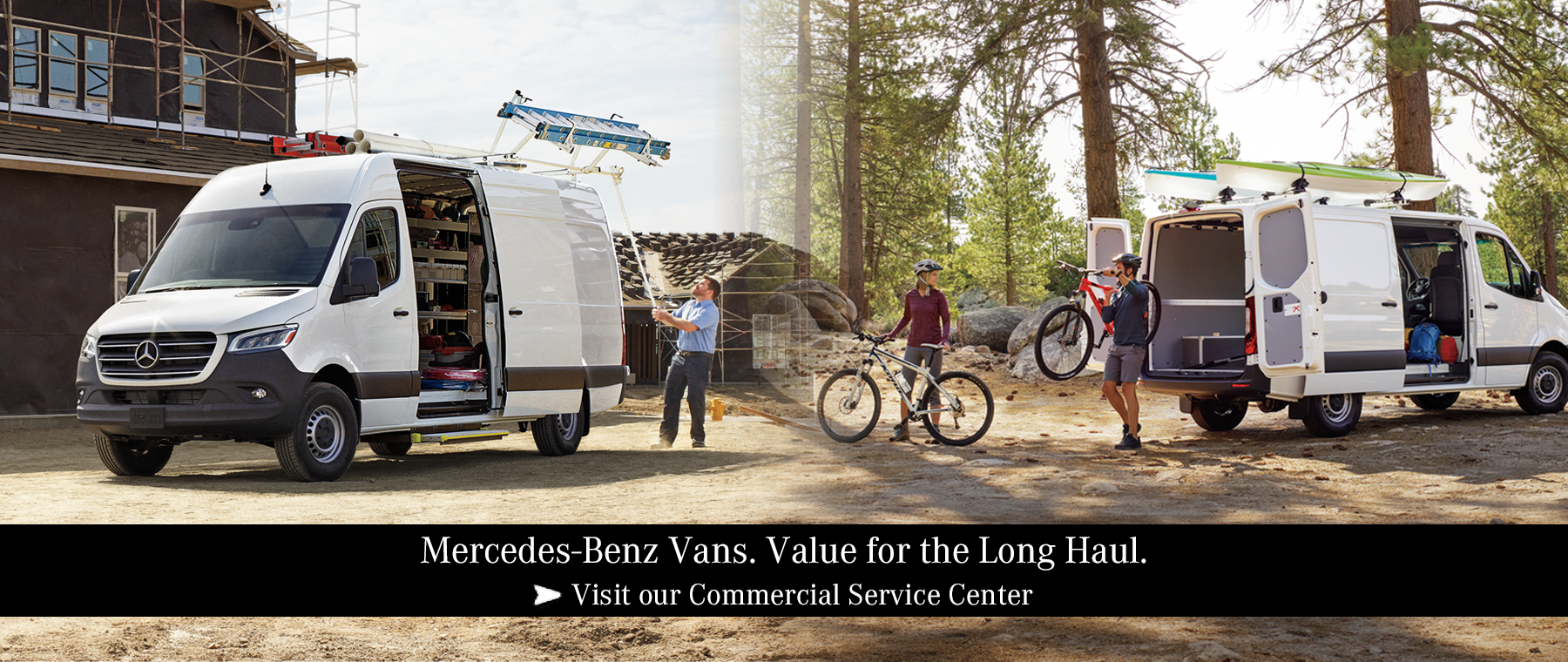 Mercedes-Benz Vans. Value for the Long Haul