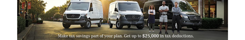 Mercedes-Benz Vans Tax Deduction Opportunity