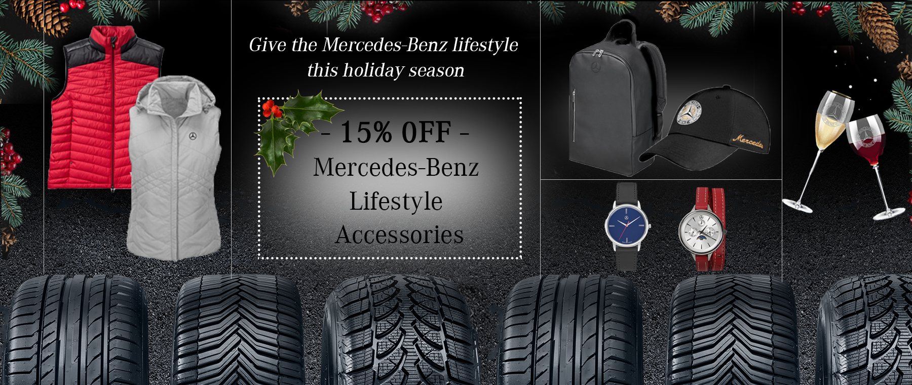 Mercedes-Benz Parts and Lifestyle Accessories Special