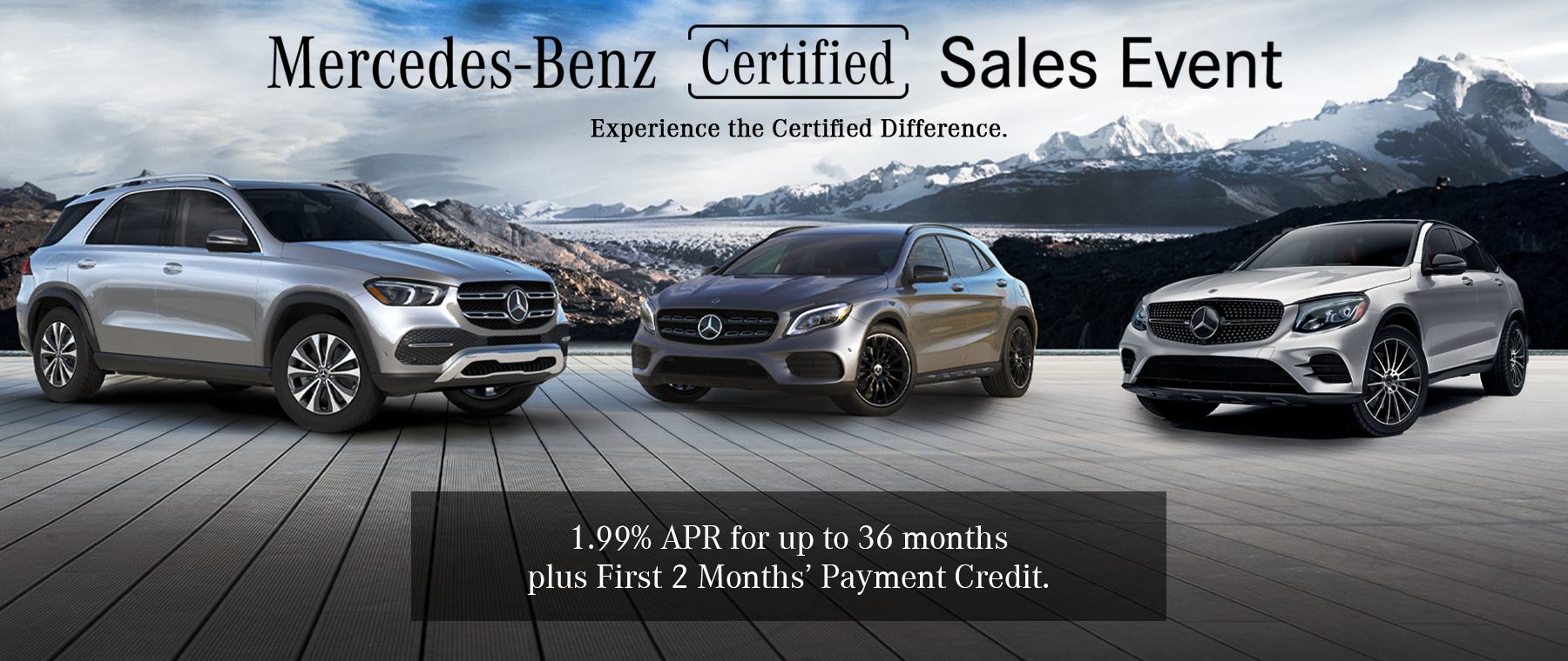 Mercedes-Benz Certified Pre-Owned Event