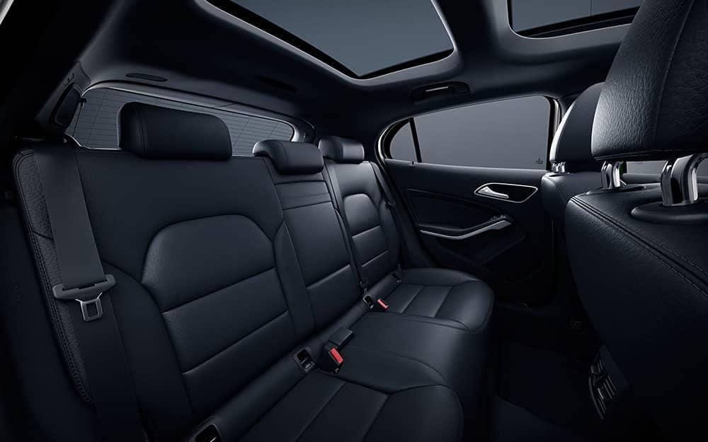 2020 MB GLA Back Seat