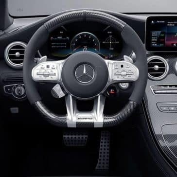 2020 AMG GLC 63 S Coupe interior