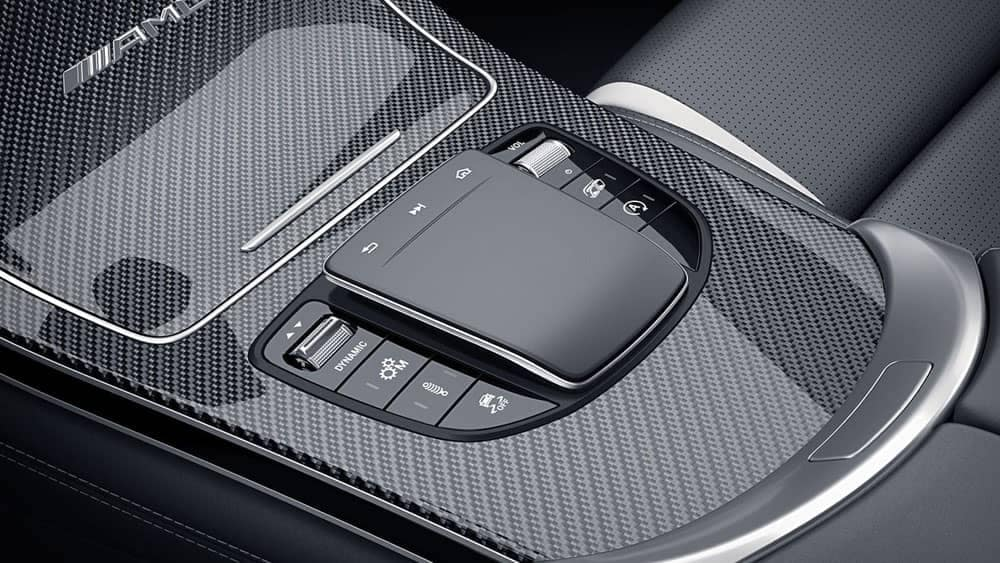 2020 AMG GLC 63 S Coupe center console