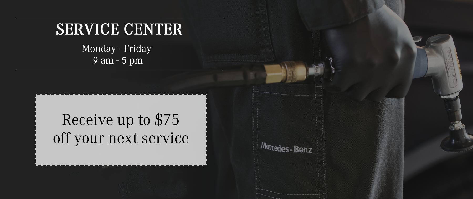 MB Service Specials