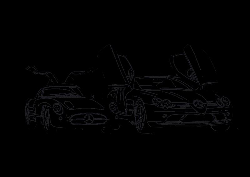 Mercedes-Benz coloring book