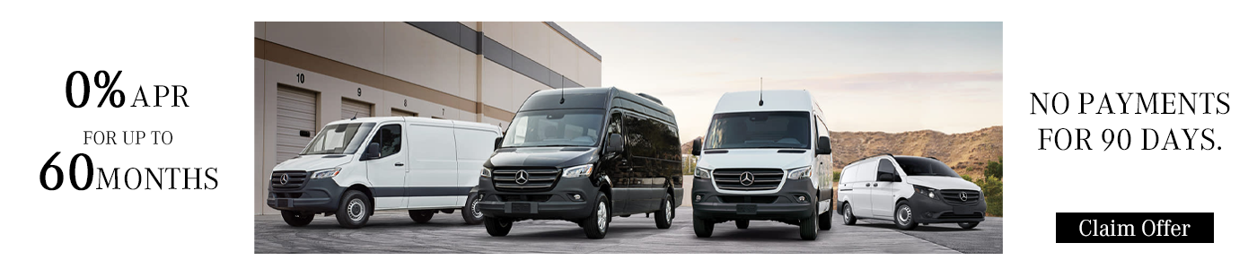 Sprinter offers - 0% financing