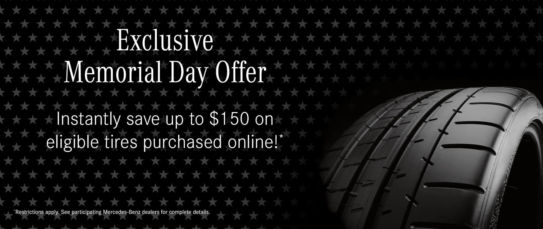 Memorial Day OEM tire special