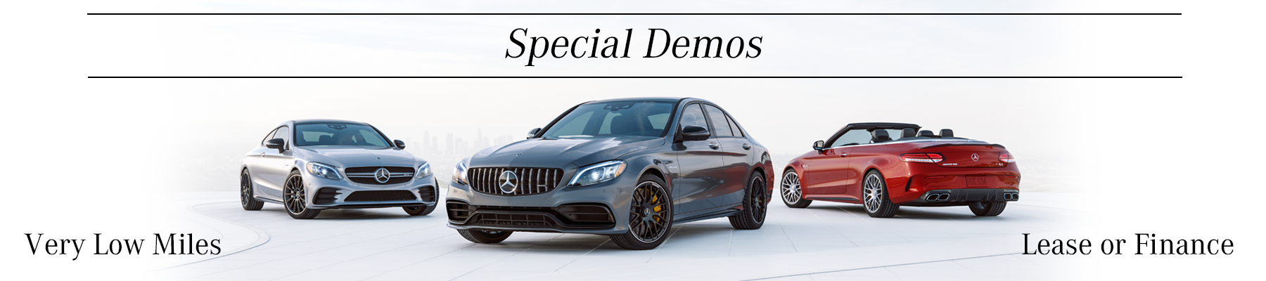Dealer Demo Specials