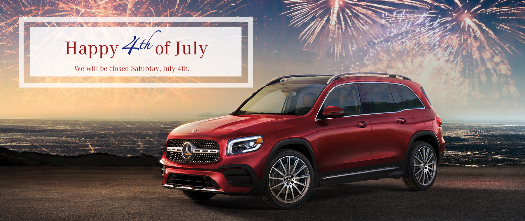 Mercedes-Benz 4th of July
