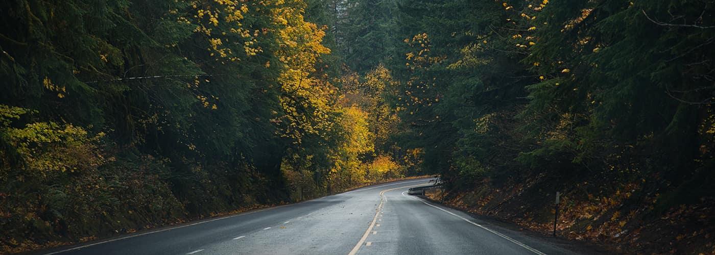 Route 58 in Oregon