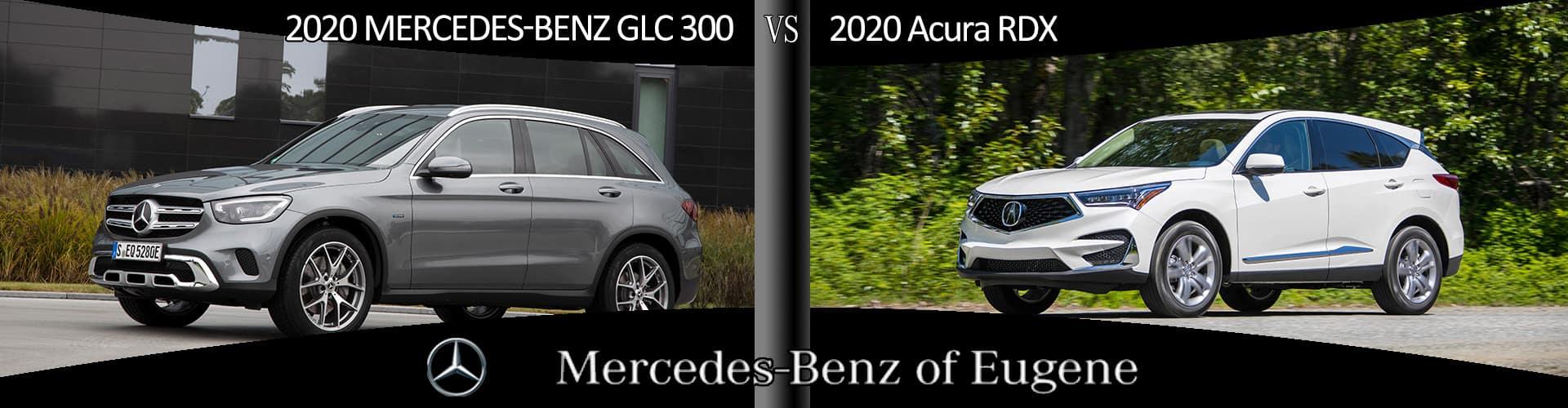 Mercedes-Benz GLC vs. Acura RDX