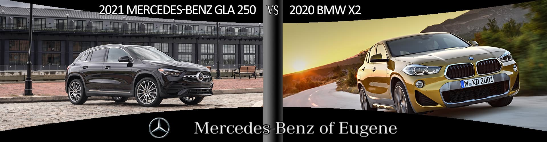 Compare and see how the 2021 Mercedes-Benz GLA 250 is a better choice than the BMW X2