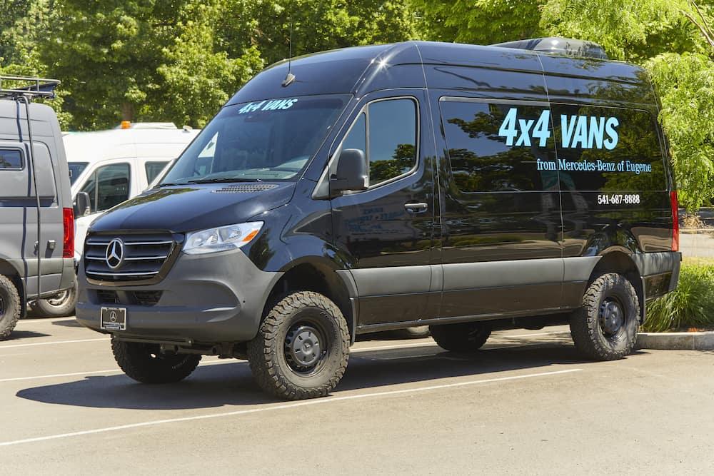 Mercedes-Benz of Eugene 4x4 Vans