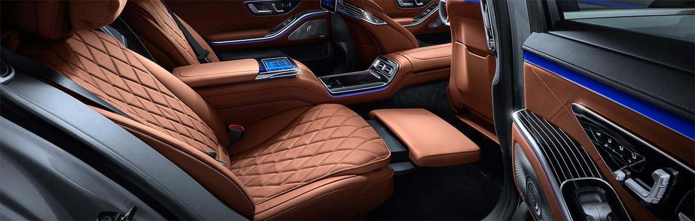2021 Mercedes-Benz S-Class Interior Front Open Door
