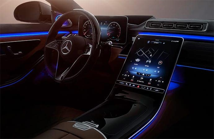 2021 Mercedes-Benz S-Class Interior Technology