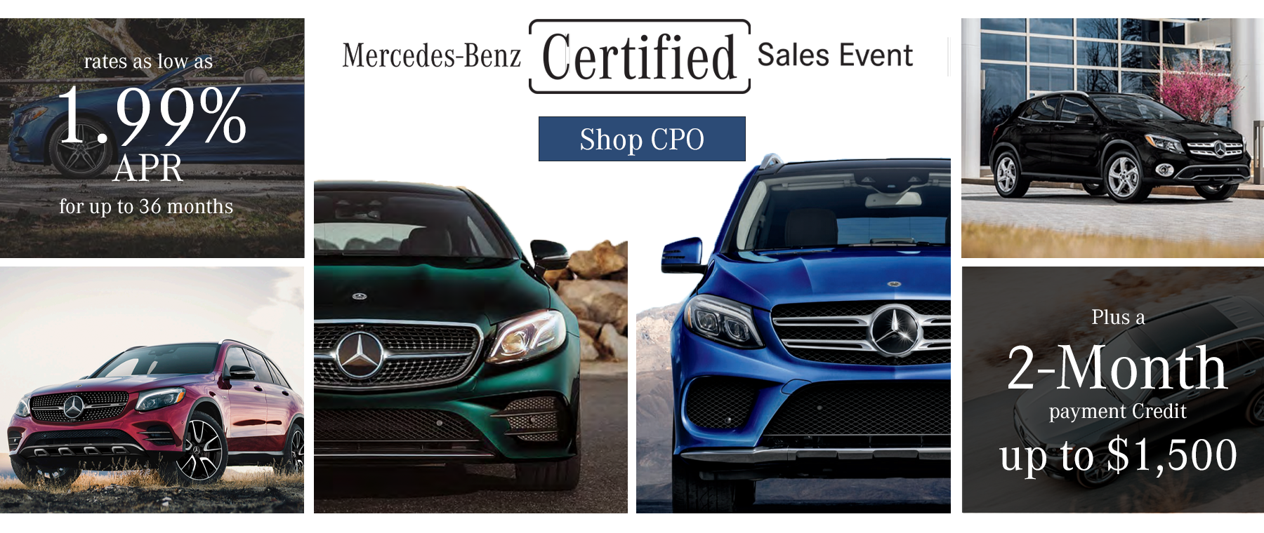 Certified Pre-Owned Sales Event 2021