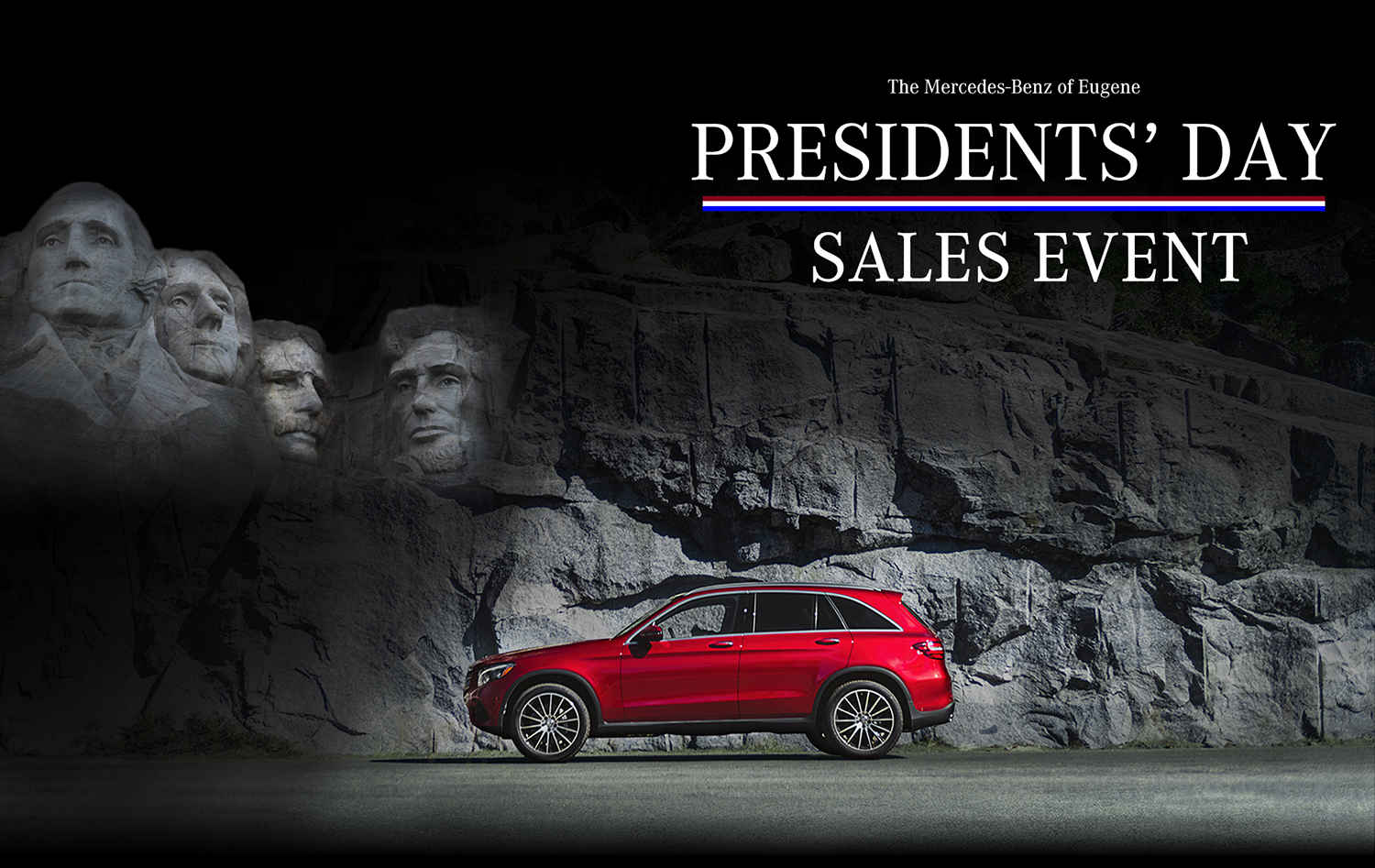 Mercedes-benz of Eugene presidents' day sales event
