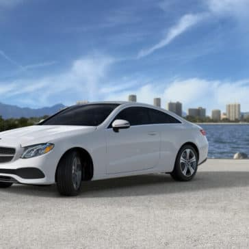 2018 Mercedes-Benz E-Class Coupe beach