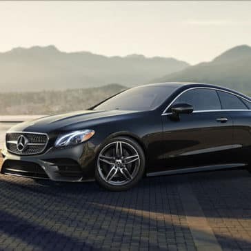 2018 Mercedes-Benz E-Class Coupe mountains