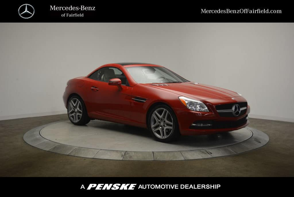 Certified Pre-Owned 2015 SLK 250 Coupe/Roadster!