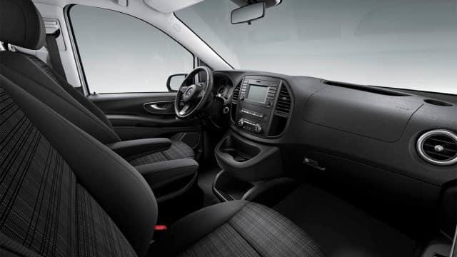 2018 Mercedes-Benz Metris cargo van front interior