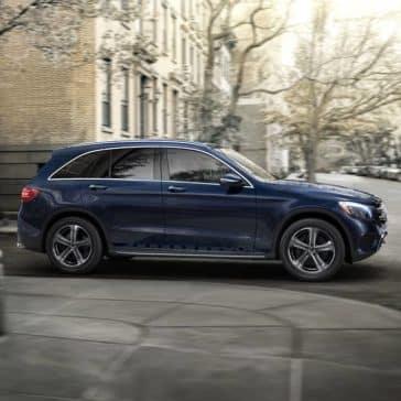 2019 Mercedes-Benz GLC SUV blue exterior