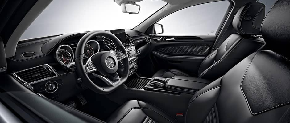 2019 Mercedes-Benz GLE front seating