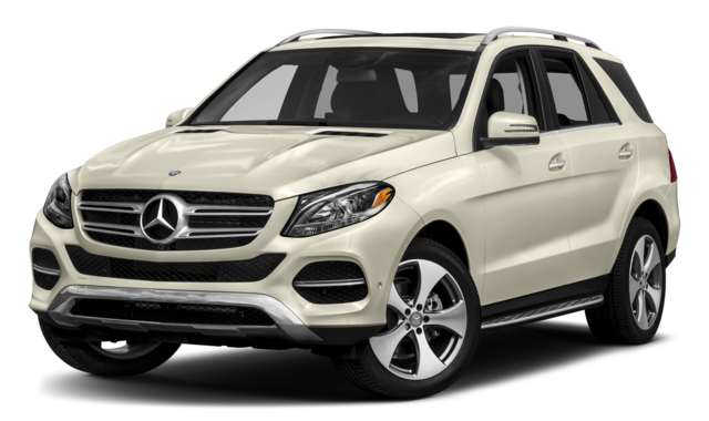 White Mercedes-Benz GLE