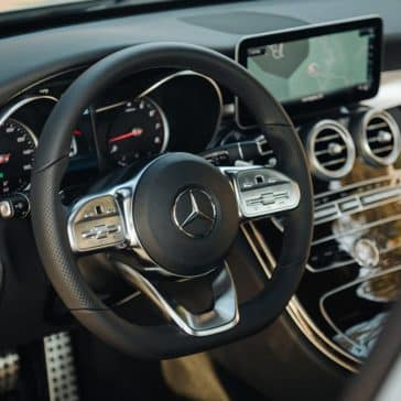 2019 Mercedes-Benz C-Class Sedan dashboard