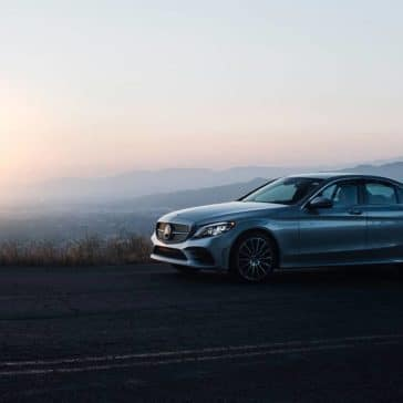 2019 Mercedes-Benz C-Class Sedan mountain highway