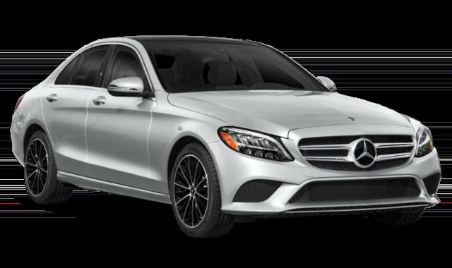 Gray 2019 Mercedes-Benz C-Class