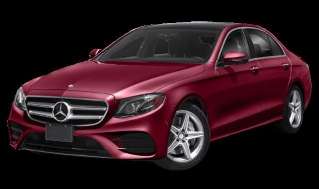 Red 2019 Mercedes-Benz E-Class