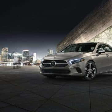 2019 MB A-Class At Night