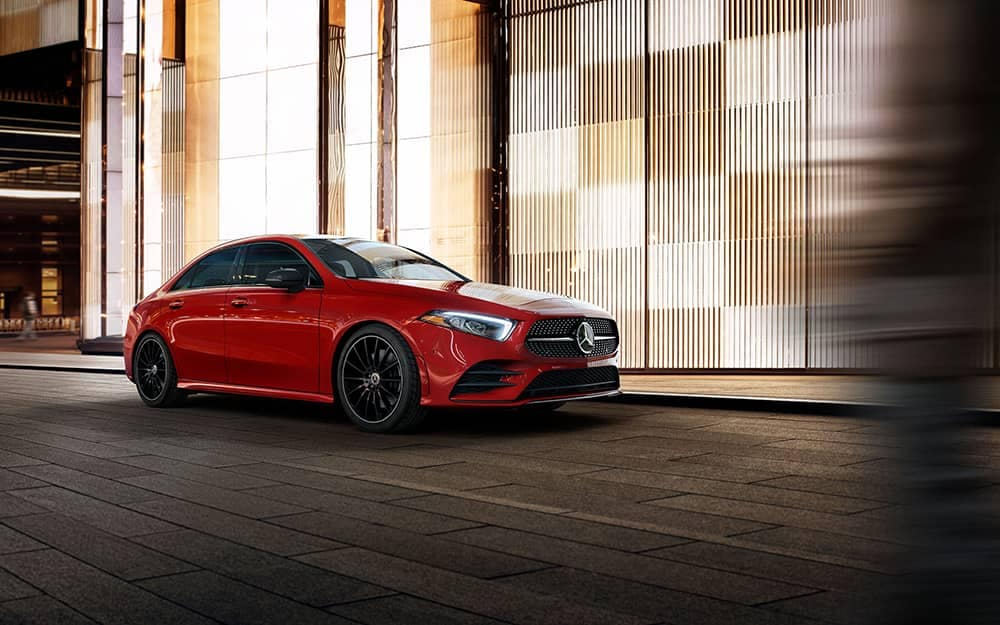2019 MB A-Class Red