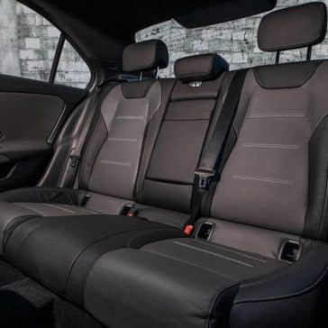 2019 MB A-Class Backseat
