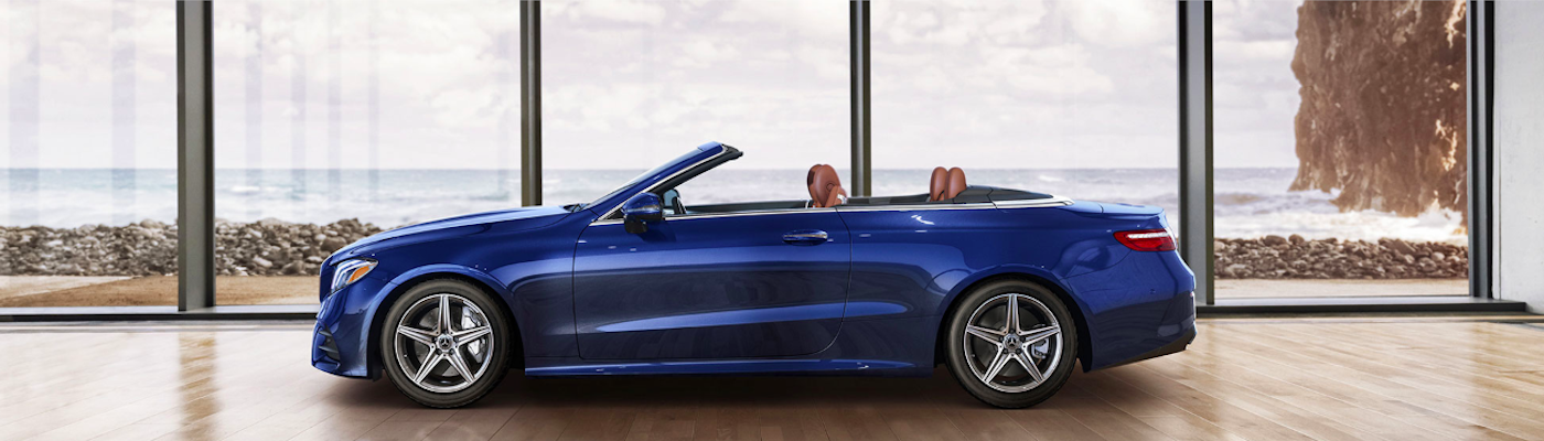 2019 Blue Mercedes-Benz Cabriolet