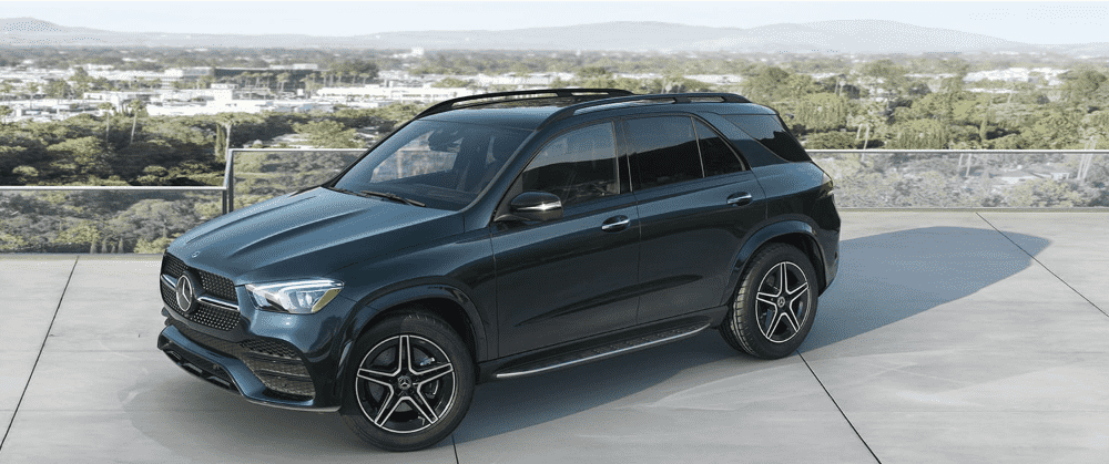 Green 2020 Mercedes-Benz GLE