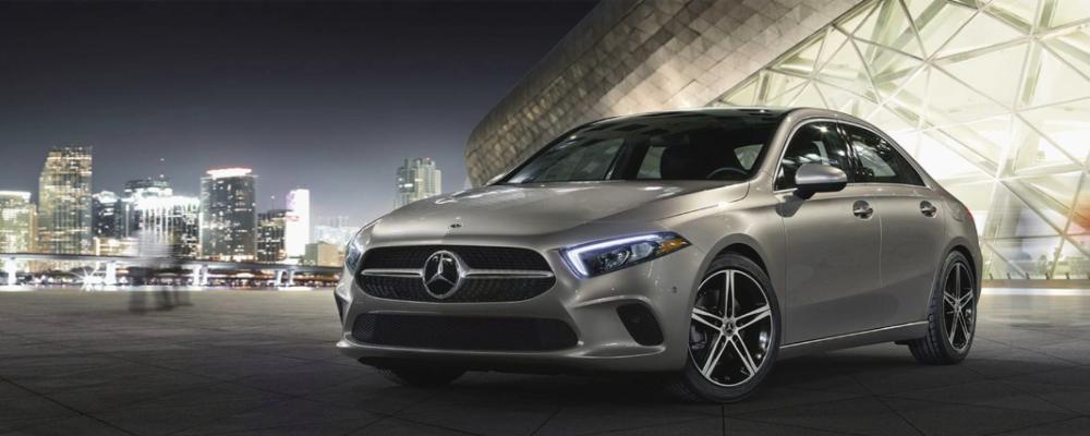 2019 Silver Mercedes-Benz A-Class